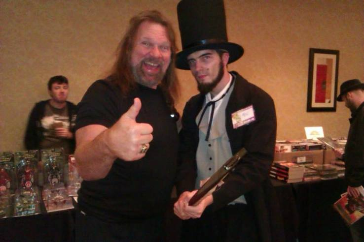 Me with Hacksaw Jim Duggan - Coast City Comicon 2012