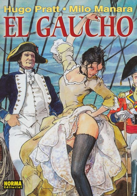 "Cover to Manara's ""El Gaucho"""