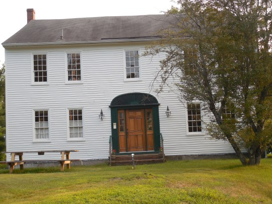 The boyhood home of Nathaniel Hawthorne in Raymond, Maine