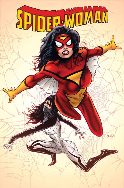 Spider-Woman #1 regular cover by Greg Land