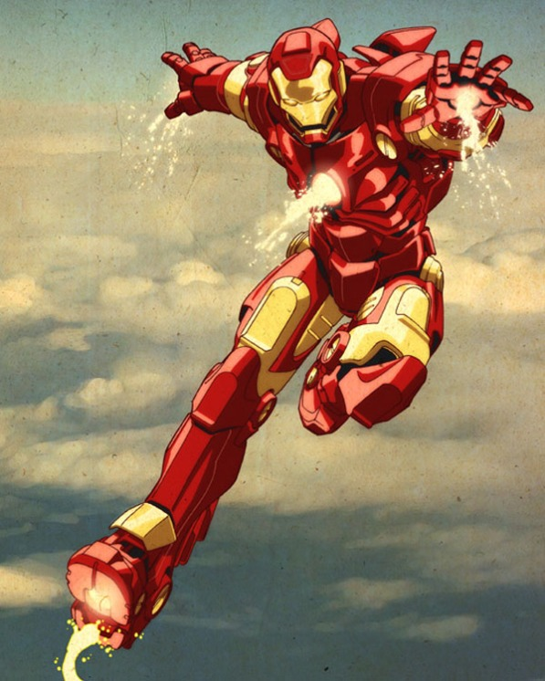Iron Man - though he really only needs some skimpy drawers and a seductive pose