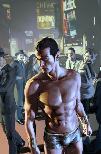 Namor's abs