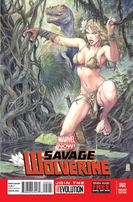 Shanna from Savage Wolverine