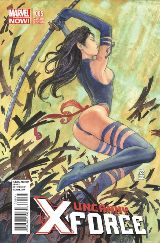 Psylocke, from X-Force