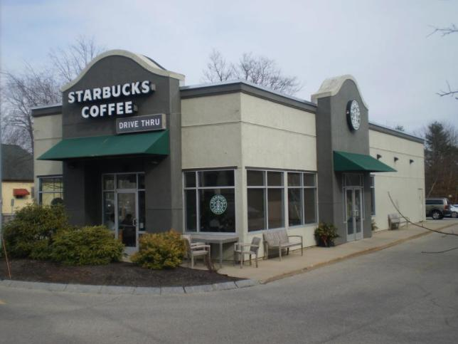 This is my current store - Saco Starbucks, right here in Maine.