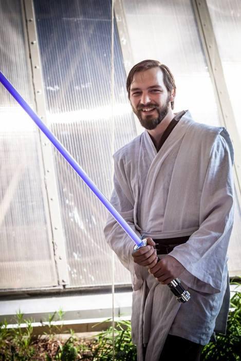 Me as Obi-Wan Kenobi from Star Wars: Episode III. Photo by