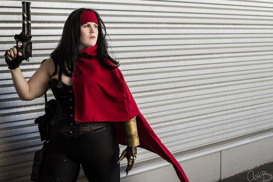 Cosplaying as Vincent Valentine (Final Fantasy series). Photo by AshB Images. Taken at Pax East.