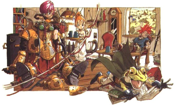 An example of Akira Toriyama's wonderful artwork.