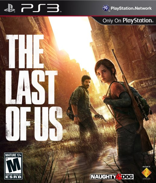 The Last Of Us game box cover art.