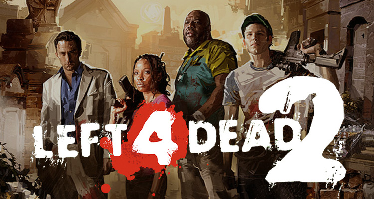 The cast of Left 4 Dead 2.