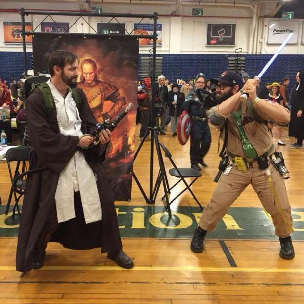 Me as Obi-Wan Kenobi at Portland Comic Expo in Portland, Maine.