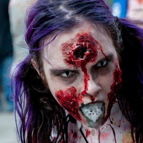 The make up she does is really cool.