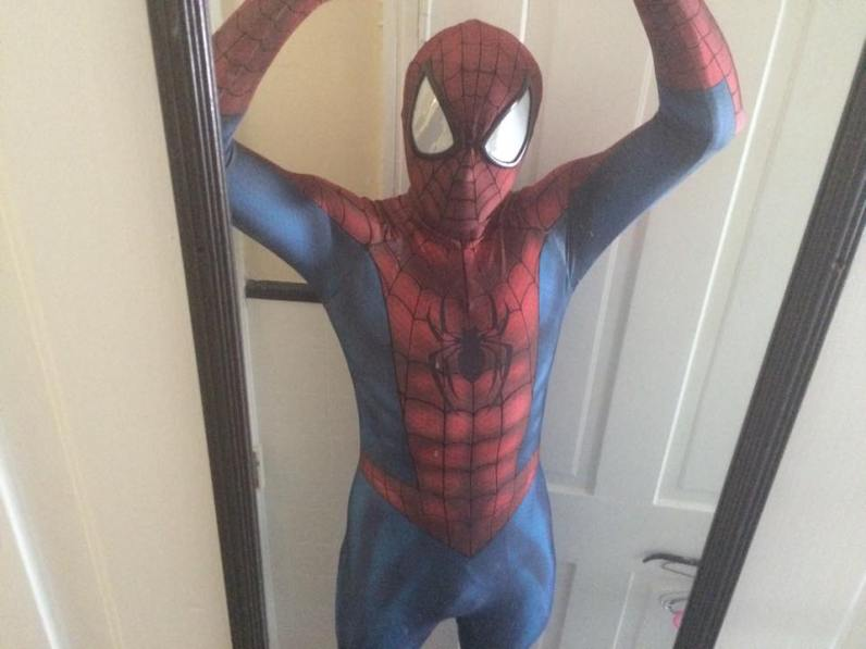 Steve's newest Spider-Man (Marvel) cosplay.