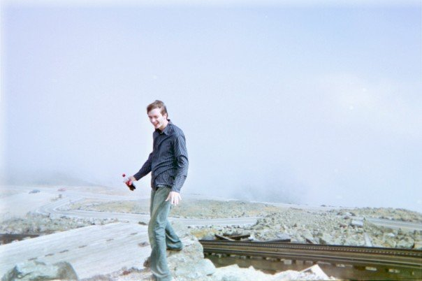 Me on top of Mount Washington.