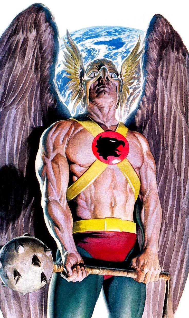 Alex Ross Hawkman My Top Ten Favo...