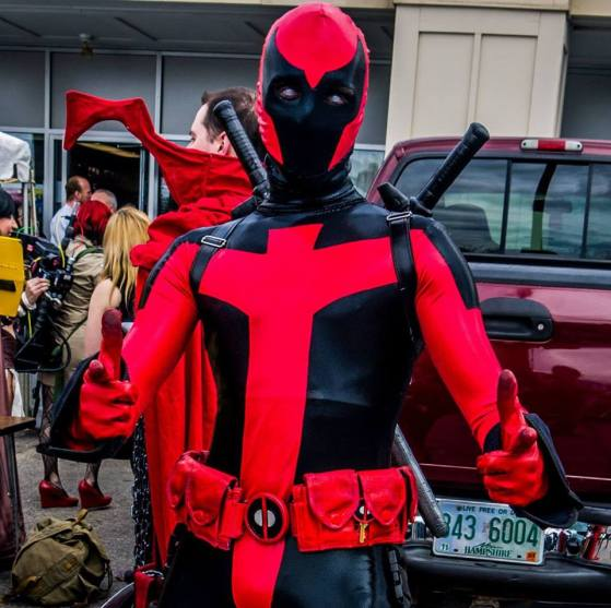 James Ryan Jwanowski as Ultimate Deadpool.