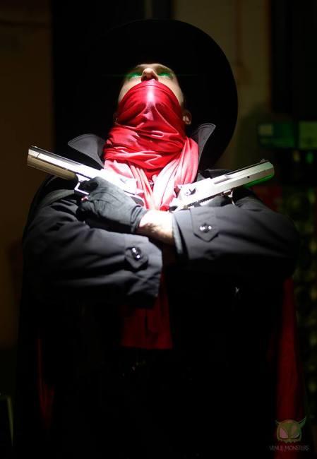 James Ryan Jwanowski as the mysterious Shadow.