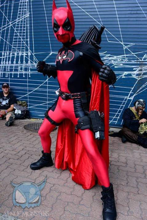 James Ryan Jwanoswki cosplaying as Batpool. Photo by Dave Palmacci.
