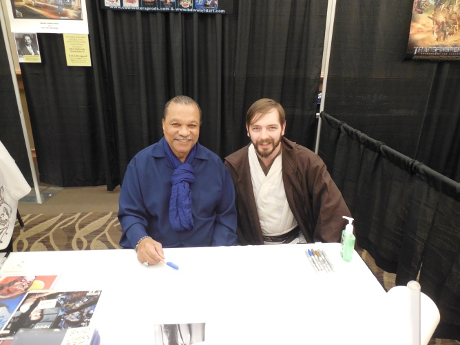 Me with the legend himself - Billy Dee Williams.