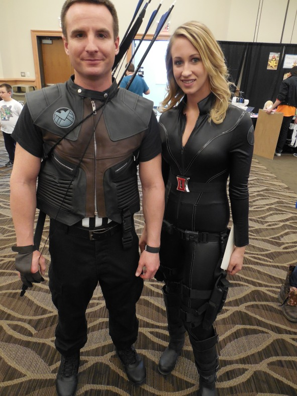 Some good Marvel Comics cosplaying going on.