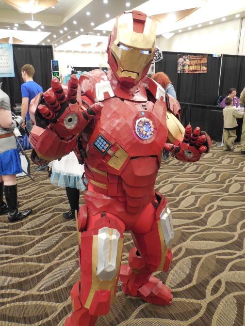 Maine's very own Iron Man - my friend Thomas Lemieux.