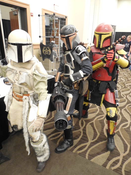 Some of my friends from the Wampa Clan chapter of the Mandalorian Merc Club.
