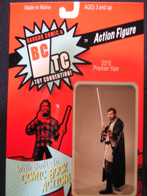 The folks at Maine Memory Photography turned me into an action figure.