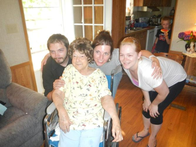 The last photo I ever had with Nana.