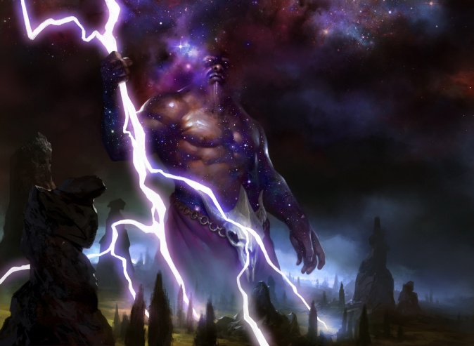 Keranos-God-of-Storms-MtG-Art