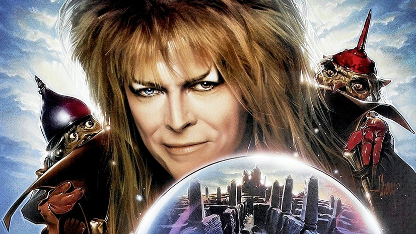 David Bowie plays Jareth the Goblin King in the film. He was the perfect choice.