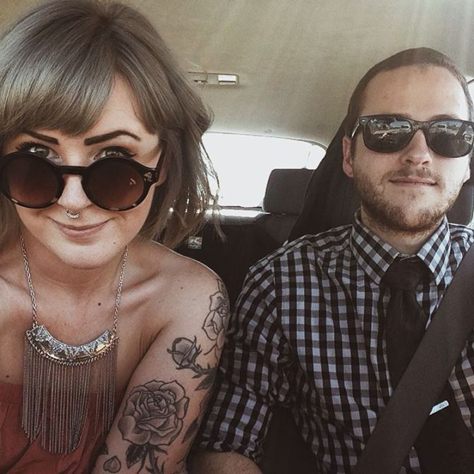 Peyton and her boyfriend, Benjamin