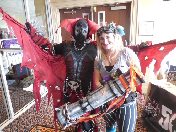 Spawn and Tank Girl.