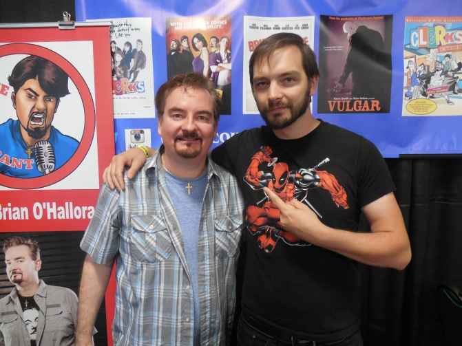 I was able to meet one of my heroes - actor Brian O'Halloran from Clerks.