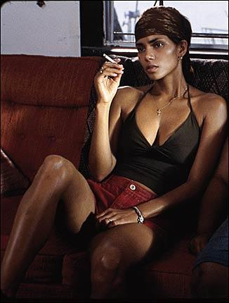 THE GOOD: Halle Berry plays Leticia Musgrove, the wife of a murdered man, in the terrific southern drama Monster's Ball.