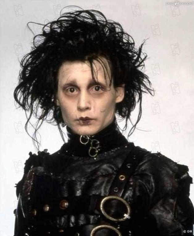 THE GOOD: Johnny Depp's portrayal of a man with scissors for hands in Edward Scissorhands cemented his superstar status.
