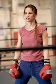 THE GOOD: Hilary Swank pulled out all the stops in Million Dollar Baby.
