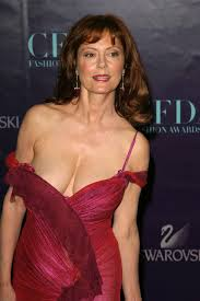 THE SEXY: Even as an older woman, Susan Sarandon still has it.