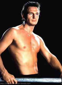 THE SEXY: Liam Neeson has a particular set of skills, which is apparently consist of walking around naked.
