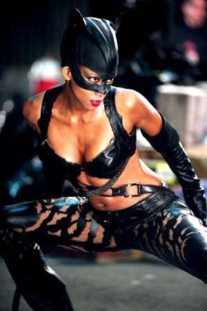 THE BAD: Halle Berry should have been amazing as Catwoman in the movie of the same name - Catwoman. However, her performance fell flat, as did the movie itself.