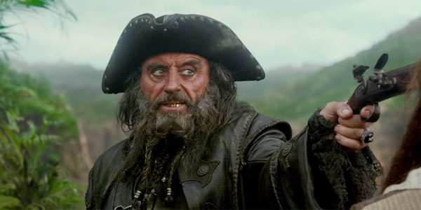 THE BAD: Though McShane is the best choice to play Blackbeard, Pirates of the Caribbean III was awful.