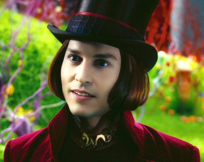 THE BAD: Depp's portrayal of Willy Wonka in the terrible remake of Willy Wonka And The Chocolate Factory was a nightmare.