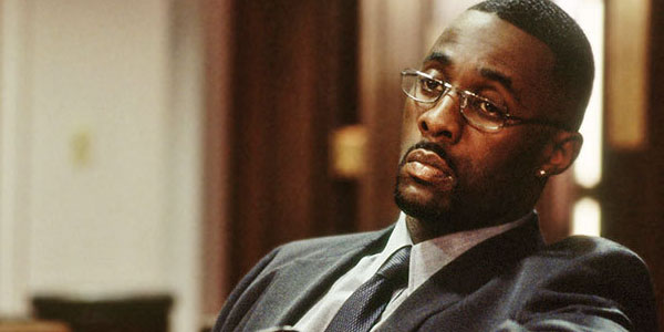 THE GOOD: Idris Elba played a crime lord named Stringer Bell in the acclaimed television series The Wire.