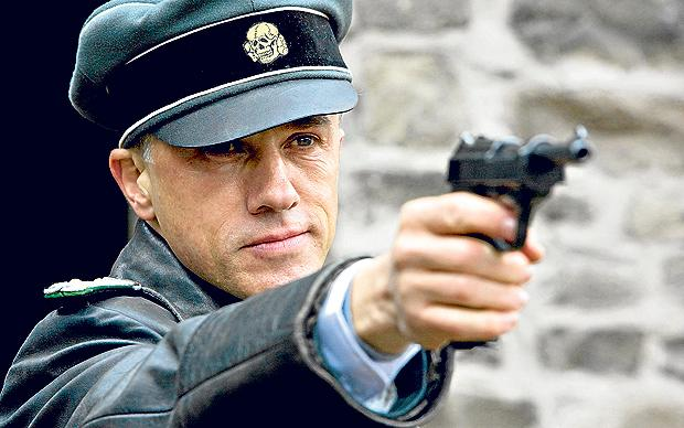 THE GOOD: Christoph Waltz portrays Colonel Hans Landa in the film Inglourious Basterds - and he steals the show.