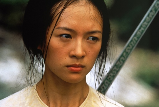 THE GOOD: Ziyi Zhang amazed audiences everywhere with her performance in Crouching Tiger, Hidden Dragon as Yu Jiaolong.