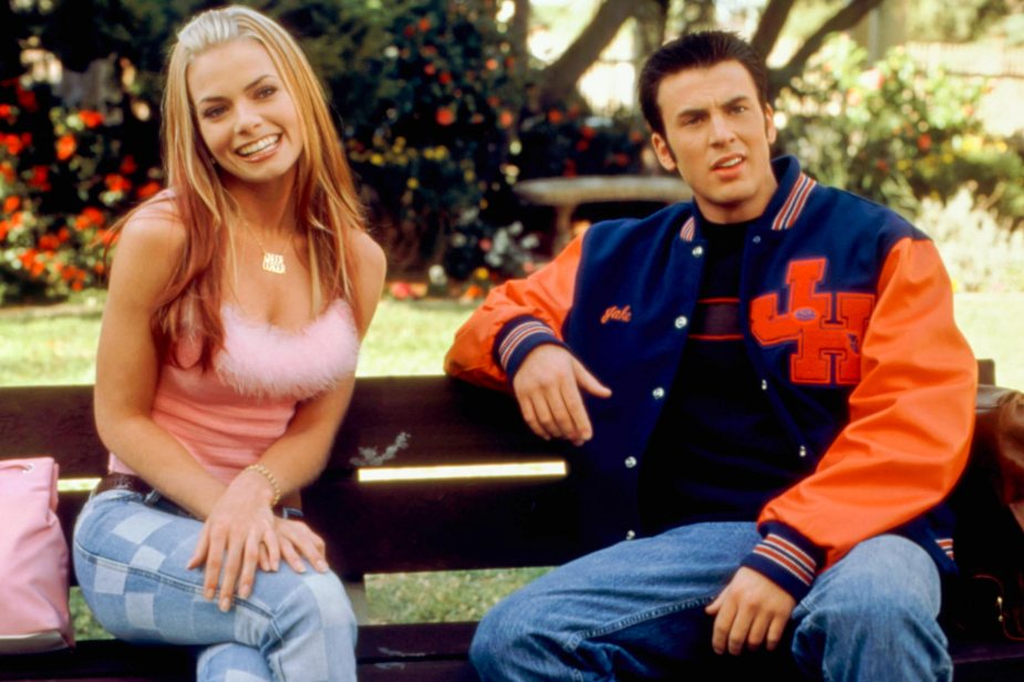 NOT ANOTHER TEEN MOVIE, Jaime Pressly, Chris Evans, 2001, (c)Columbia Pictures/courtesy Everett Coll